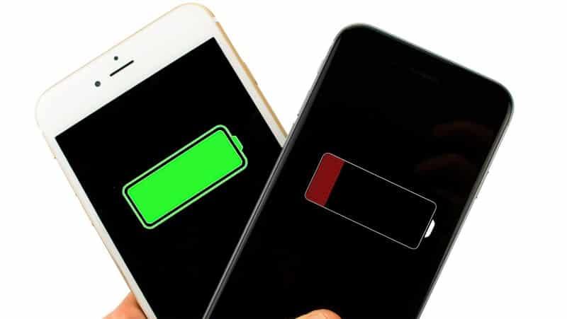 bateria viciada