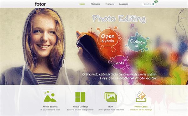 editor de foto e imagem